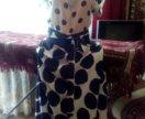 Длинная юбка с блузкой 46-50