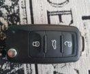 Оригинальный ключ от Фольцваген