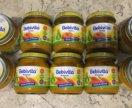 Овощные пюре, 25 шт. за все