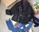 Джинсы Zara вышивка .