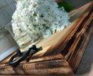 Поднос деревянный.
