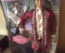 Barbie шарнирный афро принц