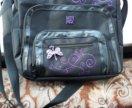 Фирменная сумка для школы.