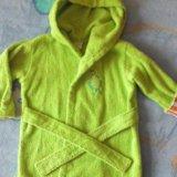 Махровый халатик на ребенка 2-х лет. Фото 1.