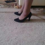 Туфли из натуральной замши. Фото 2.