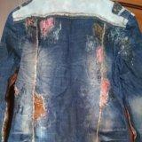 Джинсовая куртка. Фото 2. Благовещенск.