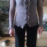 Блузка из жатого материала. Фото 1. Люберцы.