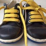 Детские ботинки кожа. Фото 1.