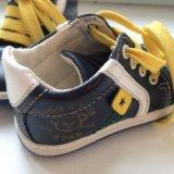 Детские ботинки кожа. Фото 2.