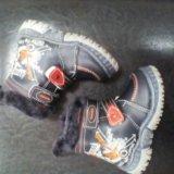 Ботинки зимние детские. Фото 2.