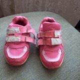 Кроссовки на девочку. Фото 1.