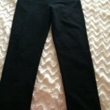 Черные брюки для беременных. Фото 1.