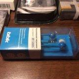 ✅синие компактные наушники-вкладыши bbk ep-1200s. Фото 3.