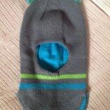 Шапка шлем для мальчика осень весна. Фото 1. Люберцы.