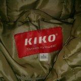 """Пуховик зимний """"kiko"""" на девочку ,рост 134. Фото 3."""