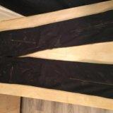 Брюки-джинсы puma, чёрные с молниями. Фото 3. Москва.