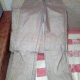 Золотистые джинсы roberto cavalli. Фото 1.