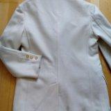 Пальто - пиджак gfferre мужское 52 белое шерсть. Фото 4. Москва.
