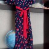 Платье в пол. Фото 2.