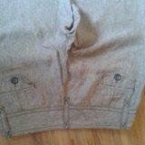 Льняные брюки. Фото 2.