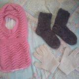 Новый шлем. зима. носки+ перчатки в подарок. Фото 1. Новосибирск.