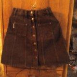 Юбка джинсовая б/у в хорошем состоянии. Фото 2.