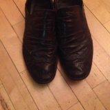Мужской обувь натуральная кожа размер 40. Фото 1.