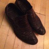 Мужской обувь натуральная кожа размер 40. Фото 2.
