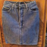 Юбка джинсовая. Фото 2. Астрахань.