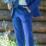 Синий костюм. Фото 3.