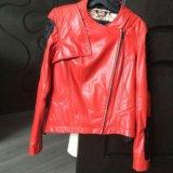 Кожаная куртка новая. Фото 1. Москва.