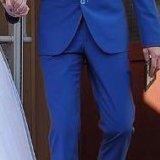 Синий костюм. Фото 4.