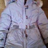 Пальто зимнее для девочки. Фото 1.