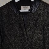 Пальто шерстяное zara. Фото 1.