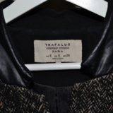 Пальто шерстяное zara. Фото 3.