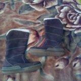 Сапожки натуральный замш на меху. Фото 3. Балашиха.