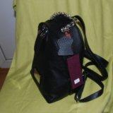 Рюкзак gaude из натуральной кожи оригинал новый. Фото 3.
