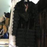 Модное меховое пальто. Фото 3. Москва.