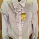 Новые блузочки в школу. Фото 2.