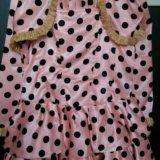 Платье на 5-6 лет. Фото 1. Новосибирск.