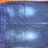 Юбка новая джинсовая 50-52 р-р. Фото 3.