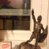 Серебро 800пр. статуэтка 626 грамм. редкость!. Фото 2.