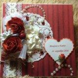Свадебная открытка. Фото 1.