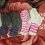 Пуховые детские носочки. Фото 2.