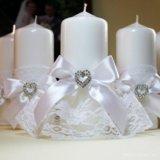 Свадебные свечи. Фото 3.