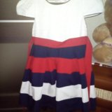 Платье на девочку,размер 122-128. Фото 1.