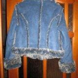Куртка темно синего цвета. Фото 1.