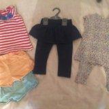 Пакет вещей для девочки 74-86. Фото 2.