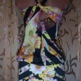 Сарафаны с цветочным принтом и пайетками. Фото 4. Евпатория.
