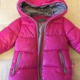 Детская удлиненная куртка benetton. Фото 2.